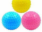 6 INCH KNOBBY BALLS  (Sold by the dozen) *- CLOSEOUT 50 CENTS EA