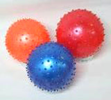 3 INCH KNOBBY BALLS  (Sold by the dozen) *--  CLOSEOUT NOW 25 CENTS EA