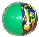 NINJA TURTLE 12 INCH INFLATABLE BALLS ( sold by the dozen ) * CLOSEOUT NOW $ 1 EA