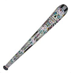 DAY OF DEAD jumbo 60 inch INFLATABLE BASEBALL BAT ( sold by the dozen )