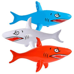 HUGE 46 INCH INFLATABLE SHARK (sold by the piece or dozen )