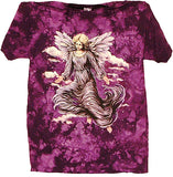 ANGEL TYE DYED SHORT SLEEVE TEE SHIRT (Sold by the piece)
