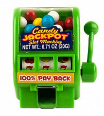 JACKPOT SLOT MACHINE CANDY ( sold by the dozen)