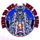 JUMBO BACK 9 INCH  PATCH DIE TO RIDE (Sold by the piece) * CLOSEOUT NOW ONLY $ 4.95 EA