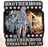 BROTHERHOOD JUMBO 6 INCH PATCH (Sold by the piece)