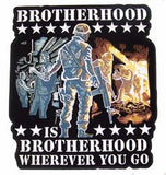 BROTHERHOOD JUMBO PATCH (Sold by the piece)