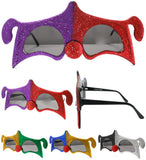 JESTER CLOWN PARTY GLASSES (Sold by the piece or dozen )