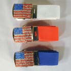 AMERICAN FLAG JEWEL BELT WITH BUCKLE (Sold by the dozen) CLOSEOUT NOW ONLY 50 CENTS EA