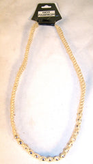 HEMP NECKLACE WITH SILVER BALL BEADS  (Sold by the dozen) *- CLOSEOUT NOW ONLY $1 EA