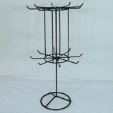 16 INCH BLACK SPINNING JEWELRY RACK (Sold by the piece) *- CLOSEOUT NOW $7.50 EACH