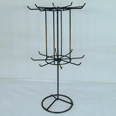 16 INCH BLACK SPINNING JEWELRY RACK (Sold by the piece)