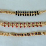 ASSORTED BEADED HEMP BRACELETS  (Sold by the dozen) - CLOSEOUT NOW ONLY 50 CENTS EA