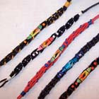 SURF BOARD WOVEN BRACELETS  (Sold by the PIECE OR dozen) CLOSEOUT 50 CENT EA