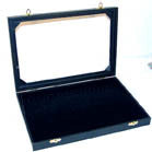 ENCLOSED JEWELRY TRAY WITH PAD (Sold by the piece) *- CLOSEOUT NOW $10 EACH