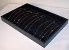NECKLACE VELVET DISPLAY TRAY (Sold by the piece)