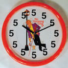 NO DRINKING UNTIL 5 NOVELTY 10 INCH CLOCK (Sold by the piece) * SALE * * CLOSEOUT * ONLY $4.50 EA
