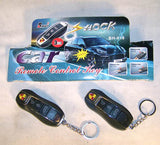 SHOCKING CAR REMOTE WITH LED LIGHT (Sold by the piece)