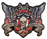 JUMBO AMERICAN TRADITIONAL  PATCH 5 INCH (Sold by the piece)