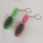 HAIR BRUSH KEY CHAIN (Sold by the PIECE)