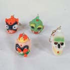 MONSTER GOOP KEY CHAIN (Sold by the dozen)  CLOSEOUT   ONLY .25 CENTS EACH