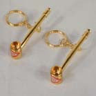 GOLD PIPE NOVELTY KEY CHAIN (Sold by the dozen) NOW ONLY 50 CENTS EACH