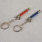 COLORED PIPE NOVELTY KEY CHAIN (Sold by the dozen)