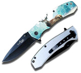BIG BUCK DEER STAINLESS STEEL KNIFE ( sold by the piece )