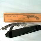 FLYING MONSTER DAGGER WITH STAND (Sold by the piece) * closeout * $9.50