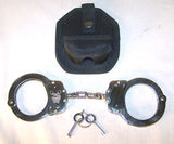DELUXE CHAINED CHROME POLICE HANDCUFFS  (Sold by the piece)