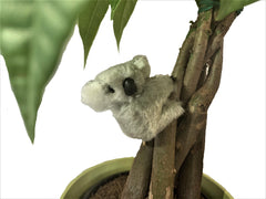 2 INCH FUZZY KOALA BEAR HUGGER CLIP ON TOY ( sold by the piece or dozen)
