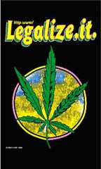 LEGALIZE IT 3' X 5' MARIJUANA FLAG (Sold by the piece)