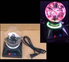 4 INCH ELECTRIC LIGHTNING PLASMA BALL (Sold by the piece) *- CLOSEOUT $ 9.50 EACH