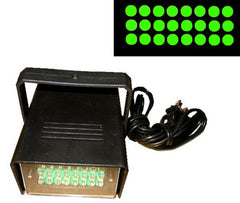 SQUARE LED GREEN STROBE LIGHT  (Sold by the piece) CLOSEOUT $ 7.50 EA