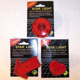 FLASHING SIGN CLIP ON'S  (Sold by the dozen)  * CLOSEOUT NOW ONLY 10 CENTS EACH