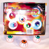 FLASHING EYE BALL SLIDE GLIDER BALLS (Sold by the dozen) CLOSEOUT NOW ONLY 50 CENTS EA