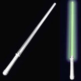 FLASHING LED GREEN LIGHT UP SABER SWORD (Sold by the dozen)