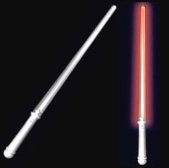 FLASHING RED LIGHT UP SABER SWORD (Sold by the piece or dozen)