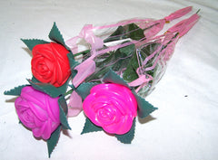 LIGHT UP CHANGE COLOR ROSES ( sold by the dozen )