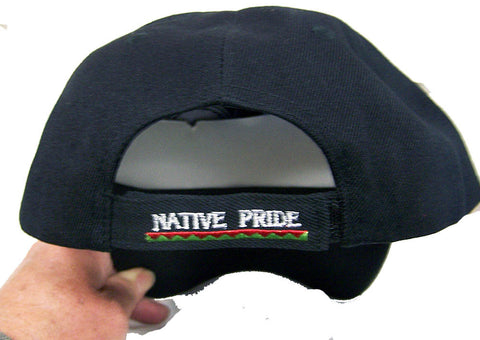 e8425f9b63e ... BEAR CLAW SYMBOL NATIVE PRIDE EMBROIDERED BASEBALL HAT (Sold by the  piece) -