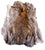 BROWN NATURAL RABBIT SKIN PELT (Sold by the piece)