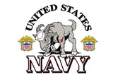 UNITED STATES US NAVY GOAT MASCOT military 3 X 5 FLAG ( sold by the piece )