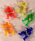 ASSORTED NINJA WARRIORS (Sold by the dozen) -*   CLOSEOUT NOW 10 CENTS EA
