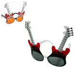 GUITAR FLAMES PARTY GLASSES (Sold by the piece or dozen )