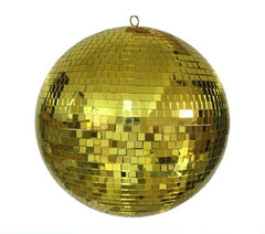 20 INCH MIRROR GOLD REFLECTION DISCO BALL (Sold by the piece)