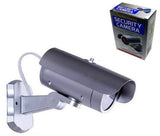 REALISTIC LOOKING SILVER BARREL TUBE FAKE VIDEO DUMMY CAMERA (Sold by the piece)