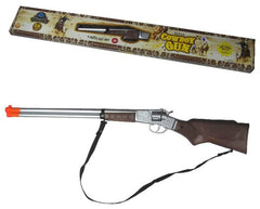 LARGE DIE CAST 27 INCH METAL 8 SHOT COWBOY WESTERN RIFLE CAP GUN  (Sold by the piece)