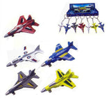 DIE CAST FIGHTER JET PLANE KEY CHAINS ( Sold by the dozen )