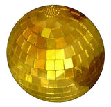 GOLD 4 INCH disco MIRROR BALL (Sold by the piece or dozen)