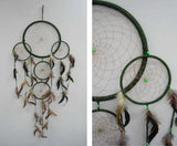 HUGE GREEN 36 INCH DREAMCATCHER ( sold by the piece )