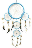 HUGE BLUE 36 INCH SUN DREAMCATCHER ( sold by the piece )
